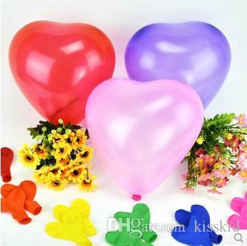 라텍스 모듬 된 핑크 하트 풍선 결혼식 부탁 파티 풍선 장식 신규 또는 색상 선택