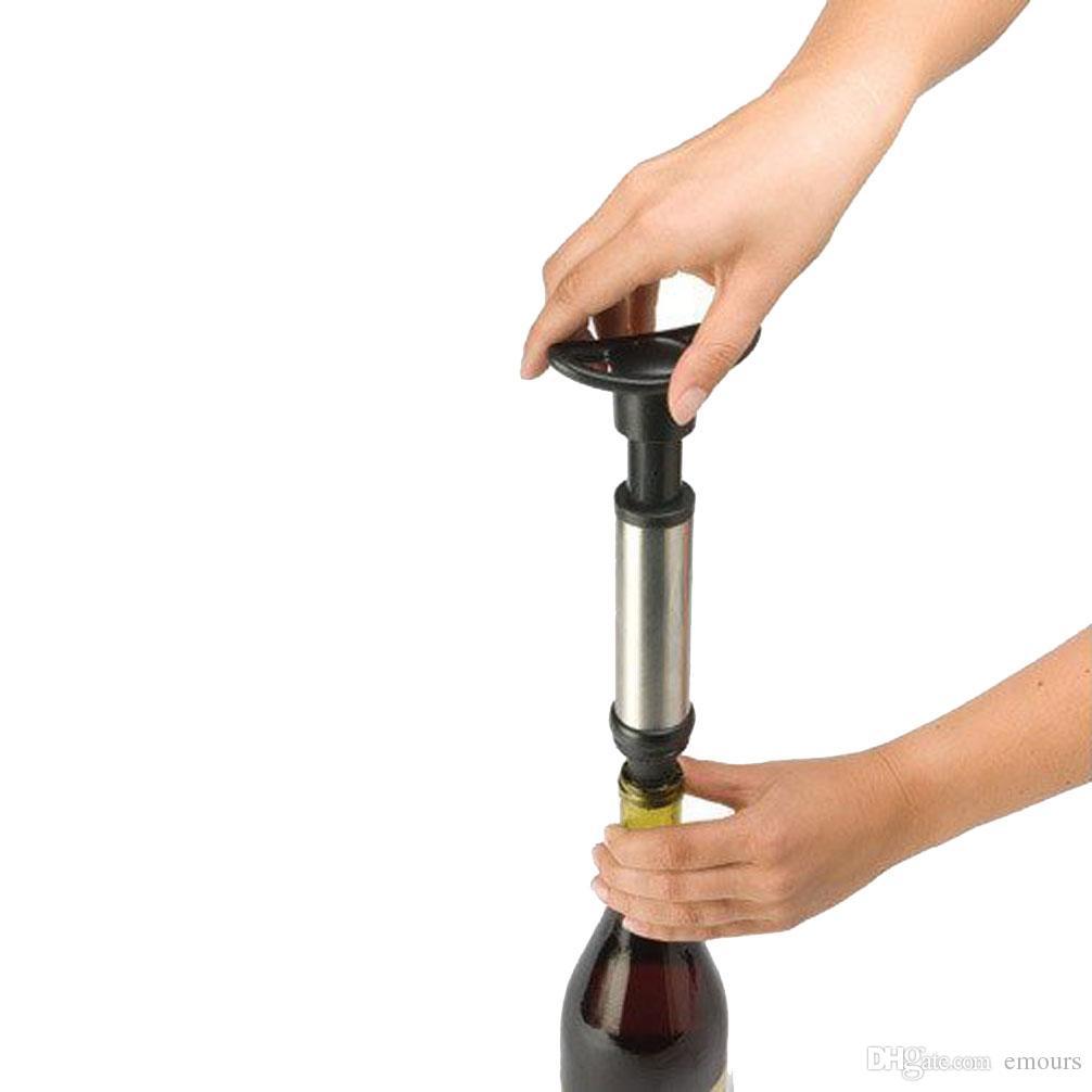Wino oszczędzający próżnia Wino Preserver Pacuum Wino Pompa z 2 stopniach zestawu prezentów hurtowych