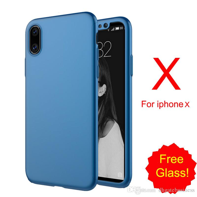 buy online 532aa 16459 Newest phone case for iphone X case cover original with glass for iphone X  Edition cover screen protector