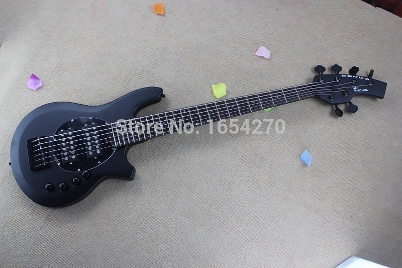 Hot Black Bango Bass Best Custom 6 String Music Man Bass Bass Guitar