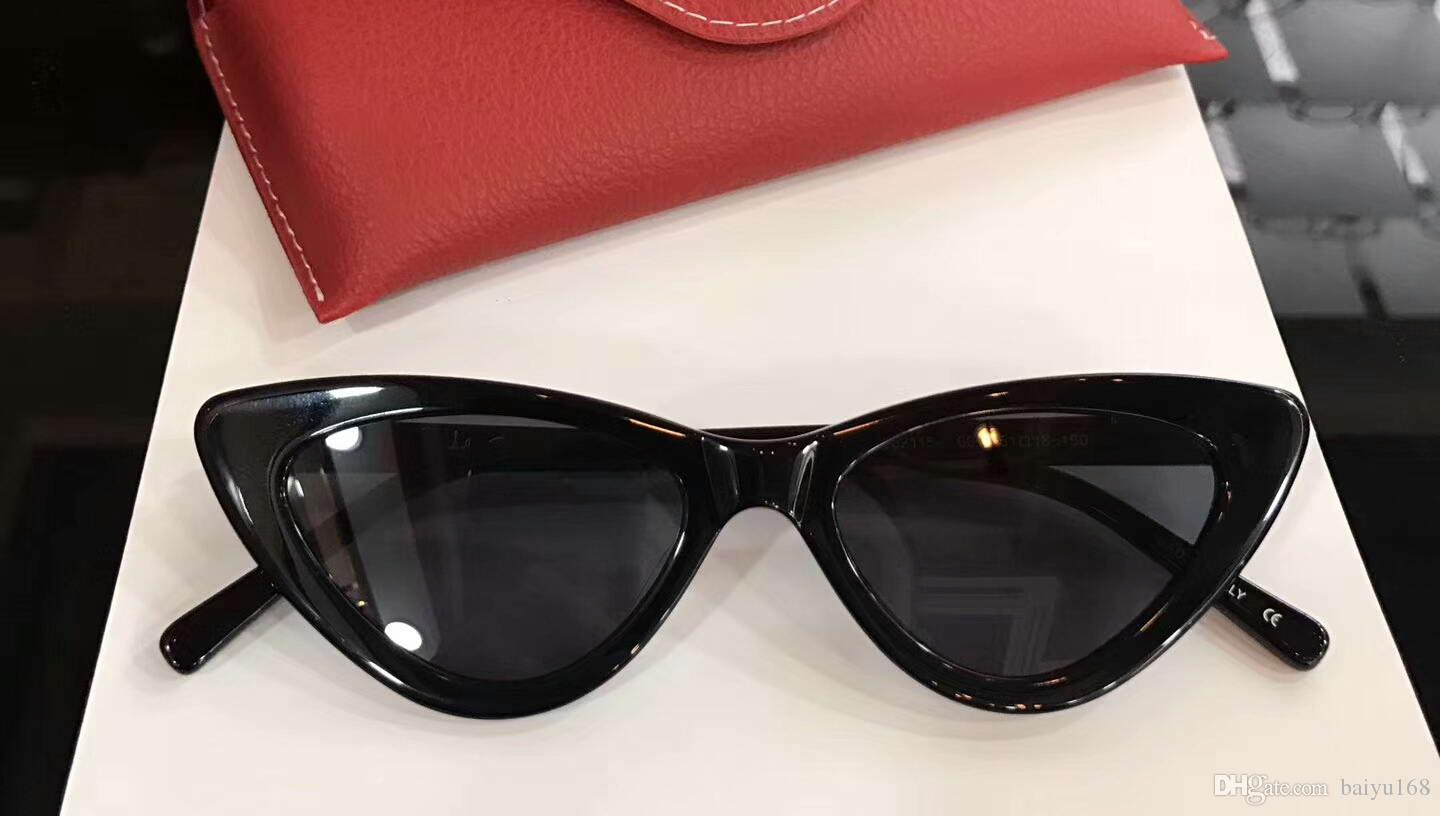 7c265b01142 Women Designer Cat Eye The Last Lolita Sunglasses Black Smoke Fashion Brand  Sunglasses New With Box Designer Glasses Sunglasses Uk From Baiyu168