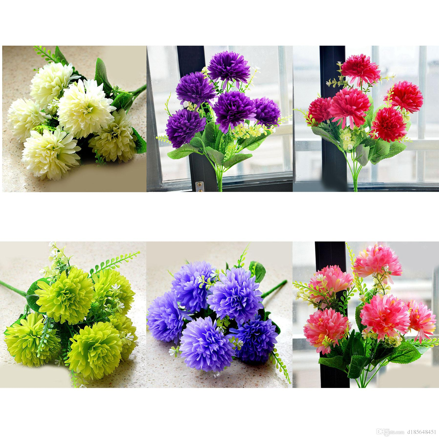wholesale silk wedding flowers 2017 artificial flowers artificial flower 5 1388