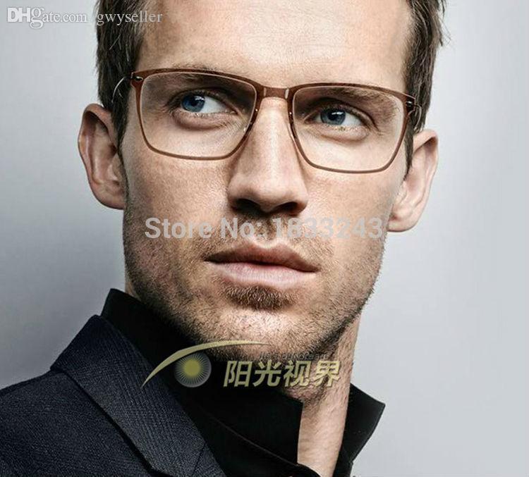 Wholesale Lindberg Glasses Frame Of Flat Mirror Man