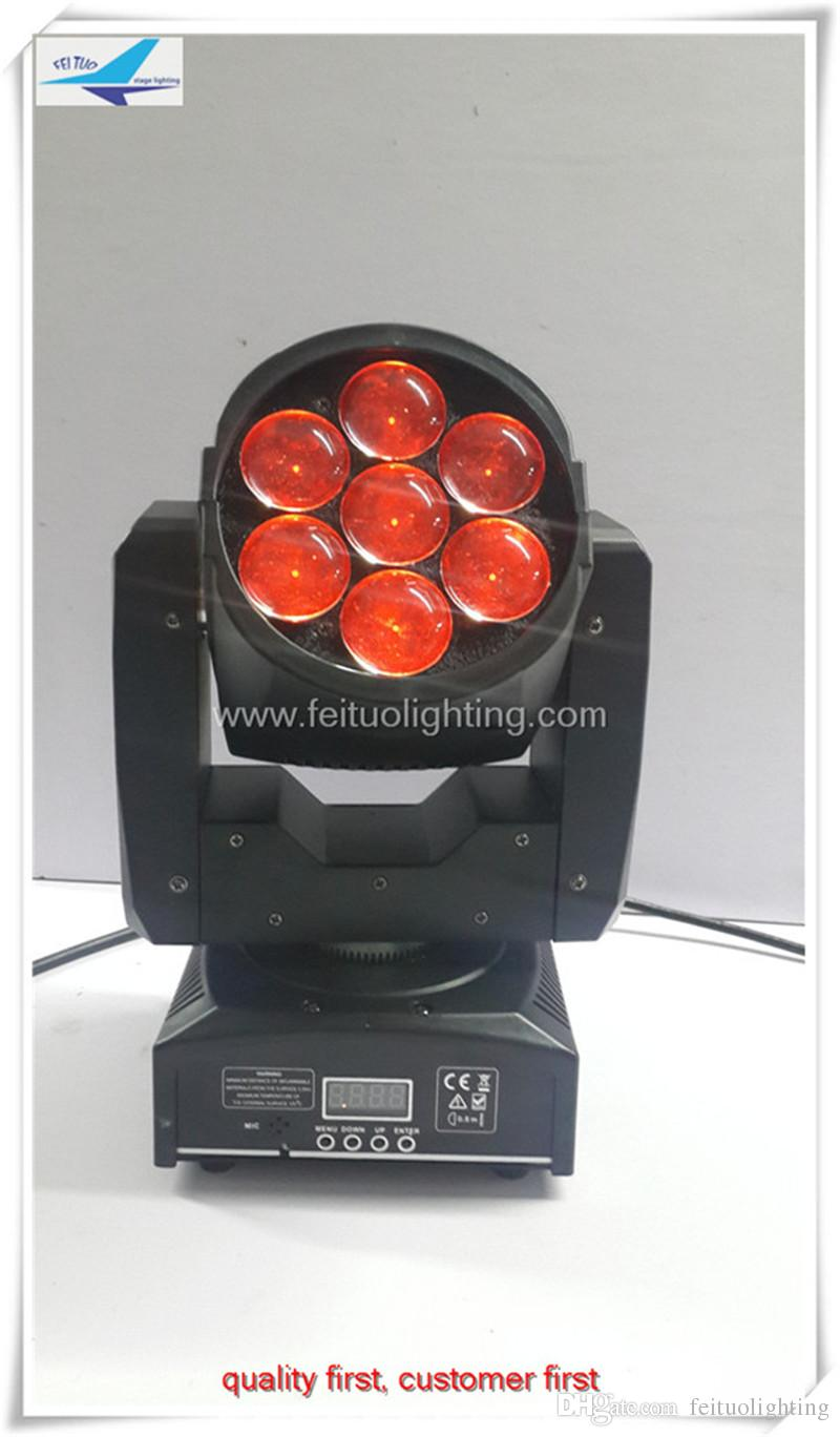 7*12w rgbw led moving light / led zoom moving head