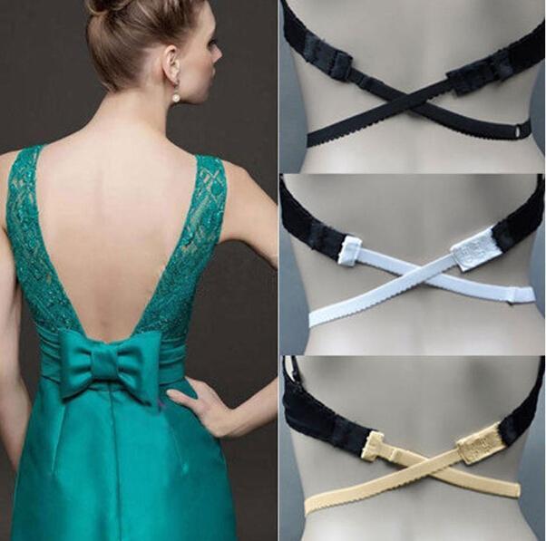 Reggiseno estensibile nero con cinturino elasticizzato reggiseno e reggiseno con cinturino posteriore