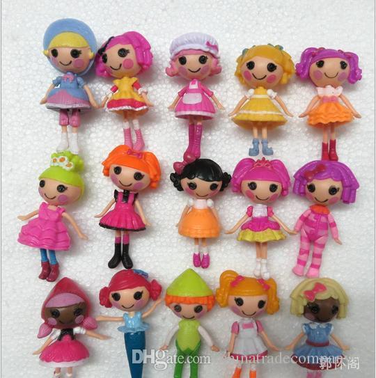 2015 Lalaloopsy Dolls Mari Golden Petals Button Eyes Girl Mini Pvc