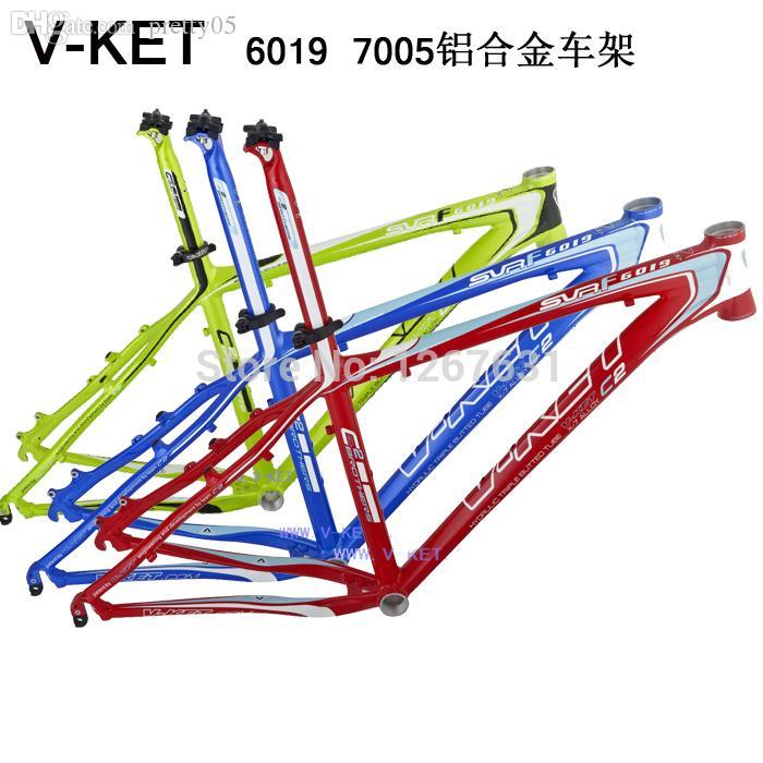 Wholesale-V-KET 6019 Mountain Bicycle Frame Ultralight 7005 Aluminum ...