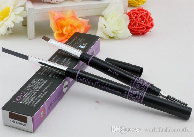 Бровей усилители Марка макияж бровей автоматический карандаш для макияжа 5 стиль краска для бровей карандаш косметика бровей подводка для глаз инструменты падение корабль