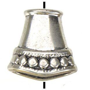 ювелирные изделия diy бисер бисер для бисероплетения ремесла старинные серебряные золотые плоские большие отверстия металлические заглушки новые оптовые моды 15 мм 100 шт.