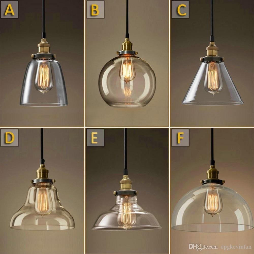 Ampoule Lumière Luminaire Café Vintage Bricolage Edison Archaize Restaurant Led Lustre Pendentif Bar Verre 7fg6yYb