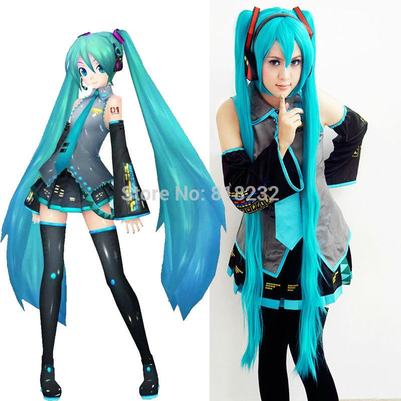 vocaloid hatsune miku uniform dress outfit anime cosplay costumes cheap halloween costumes baby halloween costumes from toycity 6614 dhgatecom