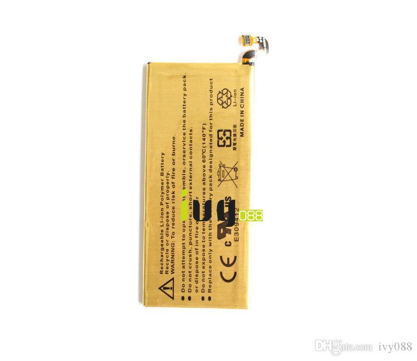 1x 3800mAh EB-BG928ABE Goudvervanging batterij voor Samsung Galaxy S6 Edge + Edge Plus G928F G928A G928P G928T G928V G928S Batterijen Batterij