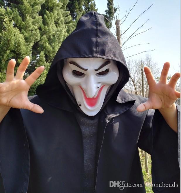 Máscara do Dia das Bruxas quente Série de Filmes de Destino Final Assustador Máscaras Cosplay Masquerade Prop Cara Rosto Anônimo Masque Horror Máscara