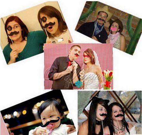 Atacado-/ Set fontes do partido festivo festa de casamento decoração de casamento adereços favores da festa de aniversário fotografia Photo Booth Props