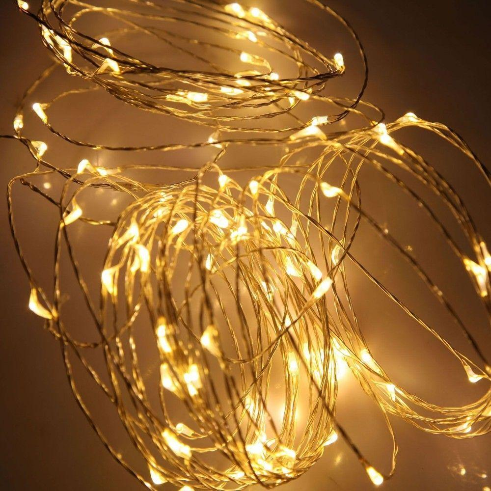 Cheap 33ft Warm White Copper Wire Led Starry Lights, 12 V Dc Led ...
