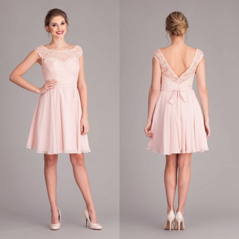 Short Bridesmaid Dresses Pink Peach Plus Size 2015 Junior Maid Of ...