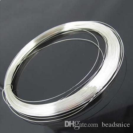 2018 Beadsnice 20 Gauge Silver Jewelry Wire 925 Sterling Silver Wire ...