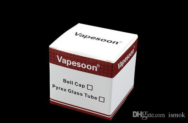 Original Vapesoon Substituição Pirex Tubo De Vidro para Kanger Toptank Mini Tanque Atomizador Kanger Topbox Mini Subvod Mega TC Starter Kits
