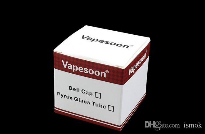 Tube en verre Pyrex de rechange d'origine Vapesoon pour Kanger Toptank Mini atomiseur de réservoir Kanger Topbox Mini Subvod Mega TC Starter Kits