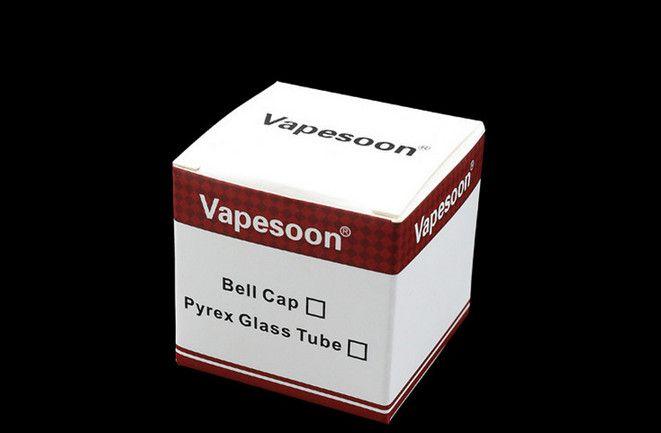 Tubo de vidrio Pyrex de repuesto Vapesoon original para Kanger Toptank Mini tanque atomizador Kanger Topbox Mini Subvod Mega TC Starter Kits