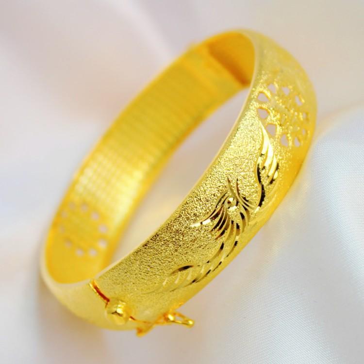 Bride Wedding Jewelry Bracelet Jewelry Gold Plated Imitation Gold ...