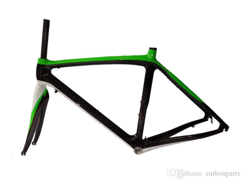 DH-RB10 full carbon fiber blue/green/white/red color painted road bike frame bicycle parts bright many multi color painted bicycle frame