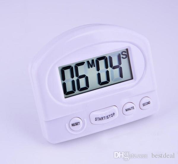 XL-331 Timer Kuchnia Gotowanie 99 Minute Digital LCD Budzik Medication Sport Countdown Calculator Timery z podkładką