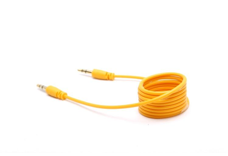 1M/3FT 3.5mm Jack Auxiliary Cord Male to Male Stereo AUX Audio Cable for PC phone Laptop MP3 Car via DHL 200+