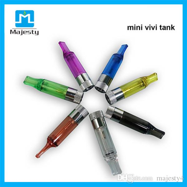 Top Selling Clearomizer Mini Vivi Tank Dual Replaceable Coil Fit with eGo Battery vs ce4 ce5 mini atomizer