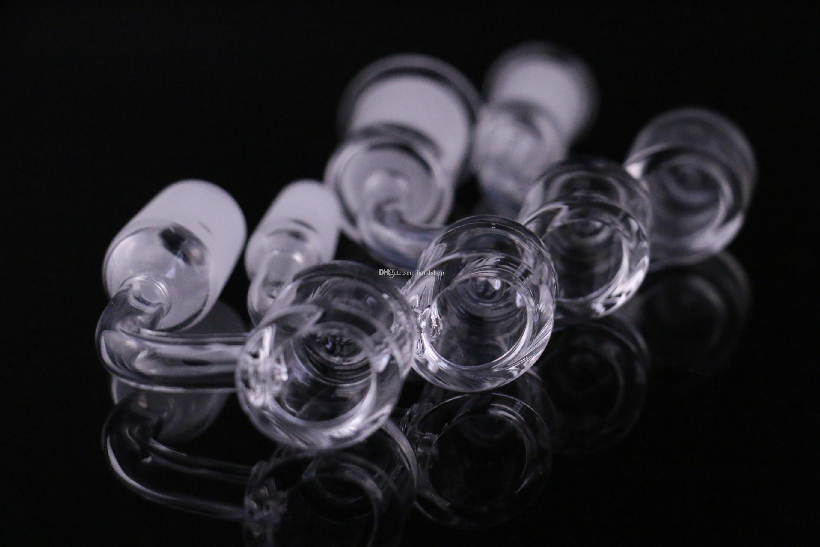 Cookahs 4 мм толстые кварцевые Banger Bange Нездовый гвоздь для стеклянного адаптера бонга 10 мм 14 мм 18 мм, мужской женский 100% реальный