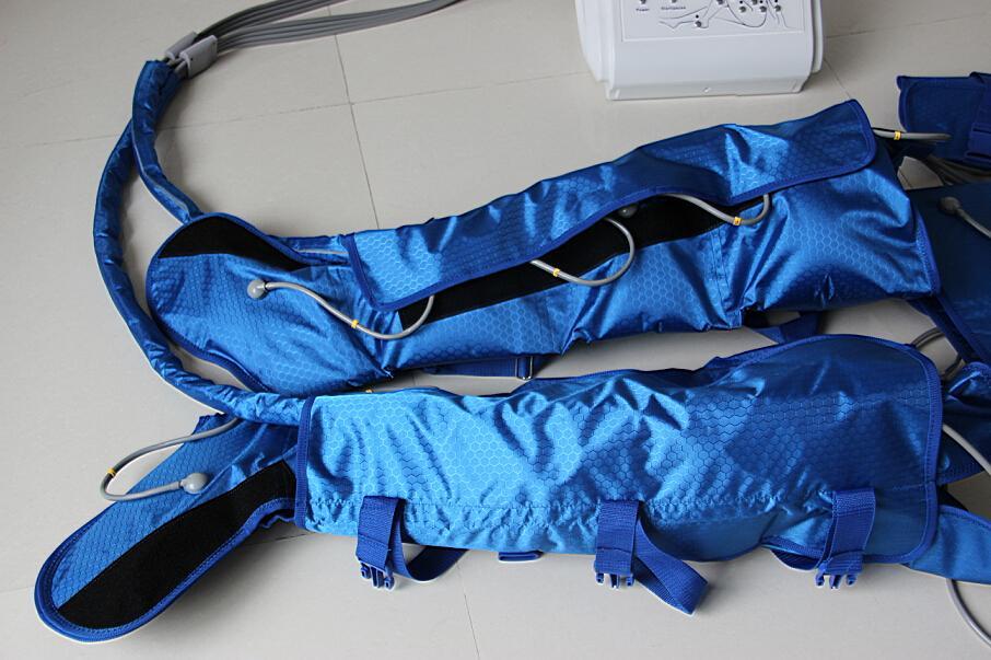 Portatile Pressotherapy Macchina dimagrante 16 Air Bags Aspirapolvere Drenaggio Drenaggio Massaggio Detox uso domestico uso domestico Attrezzature di bellezza