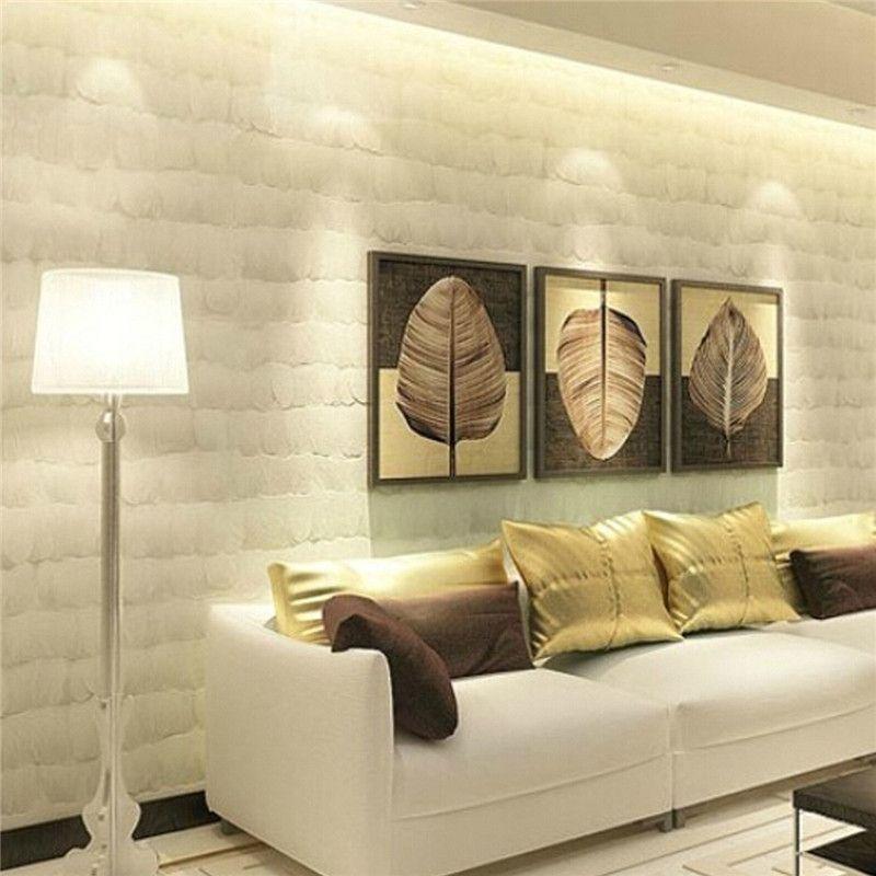 Best Price 3d 0m Non Woven Feather Wallpaper Width 53cm