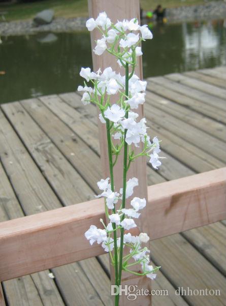 Gypsophila bebeğin nefes yapay ipek çiçek Bitki Ev Düğün Dekorasyon dekoratif çiçekler gelin buketi dekorasyon düğün çiçekleri