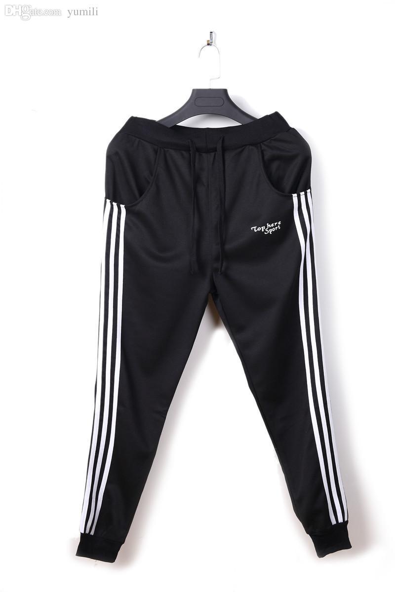 c6147dfd52 Wholesale-GymShark Luxe Fitted Tracksuit Bottoms Gym Shark Mens pants Sport  Jogging Sweatpants Trousers Men's Joggers Pants