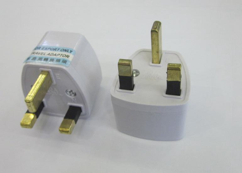 British Plug Power Adapter Gauge Transformation Travel