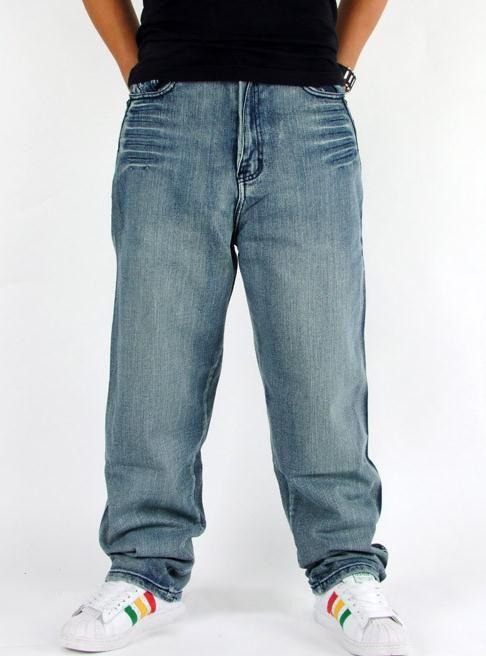2015 New Fashion Popolare skateboard pantaloni larghi jeans Street dance da uomo Hip Hop pantaloni di svago Pantaloni di grandi dimensioni 30-46 -028 #