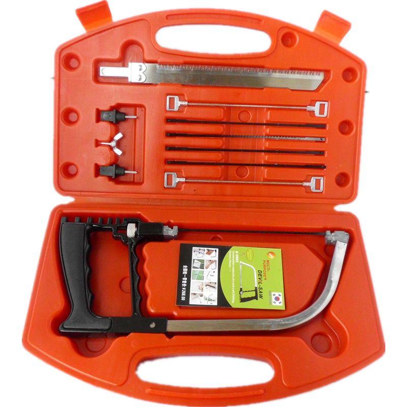 High-Grade Sliding Mitre Saw Genuine 11 in 1 Metal Cutting Saw DIY Magic Saw Kit 9 Blades Multi Purpose Saw For Sale