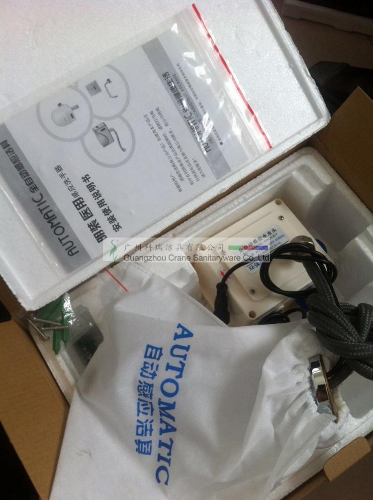 Grifo automático montado en la pared / grifo comercial / grifo del lavabo del baño / grifo del lavabo / mezclador automático
