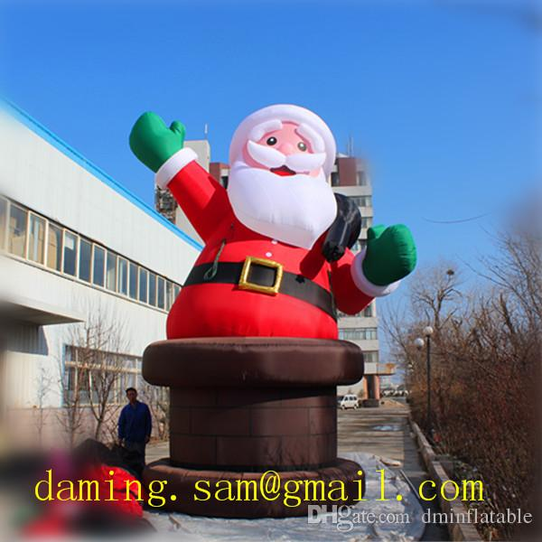 Christmas Inflatables Clearance.6m High Inflatable Santa For Christmas Inflatables Clearance