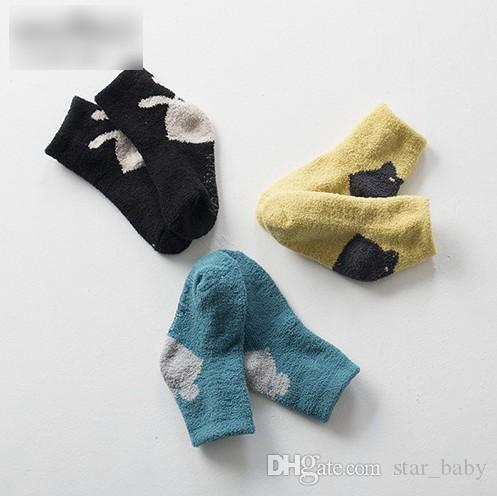 2016 0-4T Baby Boys Girl Leg Warmers Bunny Stocking Boys Girls Children Socks Outwear Sock Kids Clothes New K6322