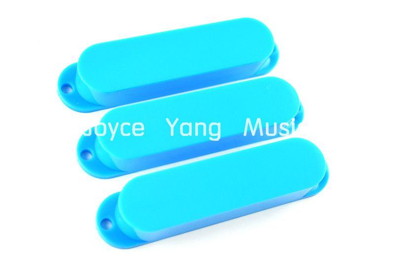 Sky Blue No Hole Closed Single Coil Pickup Чехлы Для Fender Strat Tele Style Электрогитара Бесплатная Доставка Оптовые Продажи