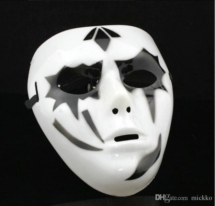 Sıcak Erkekler JabbaWockeeZ Parti Tam Yüz PVC Maskeleri Erkekler Cadılar Bayramı Maskeleri Bar Kulübü Performans Gösterisi Masquerade ...