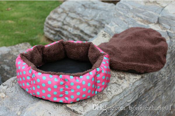 애완 동물 침대 온난화 개집 부드러운 소재 고양이 개집 따뜻한 겨울 매트 커버 소프트 담요 강아지 용품