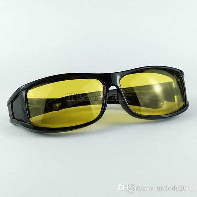 505b0c0029 Yellow Lenses Polarized Sunglasses Overglasses Black Frame Night Vision  Goggles Sunglasses Men And Women Over Optical Frame Best Sunglasses Dragon  ...
