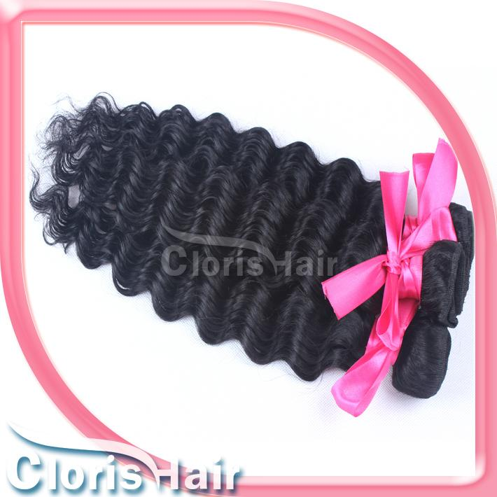 Peruvian Hair with Closure Unprocessed Human Hair Weave 3 Bundles with Lace Closures Deep Curly Wave Tissage Peruvian Avec Closure