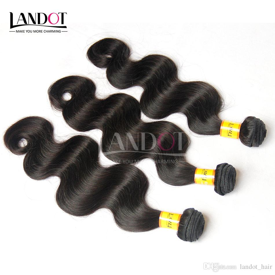 Unprocessed Malaysian Virgin Hair Body Wave 100% Human Hair Weaves 4 Bundles Natural Color SOFT THICK TANGLE FREE Malaysian Hair Extensions