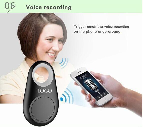 Popolare Bluetooth Anti-Perso Allarme Tracker Otturatore remoto IT-06 iTag Anti-perso Allarme Autoscatto bluetooth 4.0 tutti gli Smartphone US05