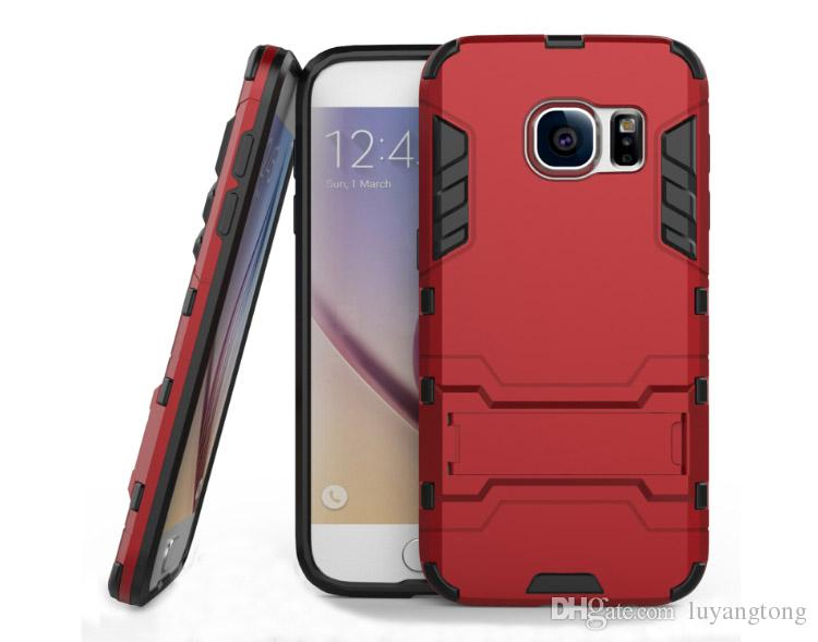 Hot sale New anti-knock kickstand Phone case for Samsung Galaxy s7 cell phone cover with