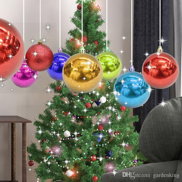 colorful glitter christmas balls ornament hanging baubles decoration for christmas party decoration decorating house for christmas decorating ornaments from - Christmas Balls Ornaments