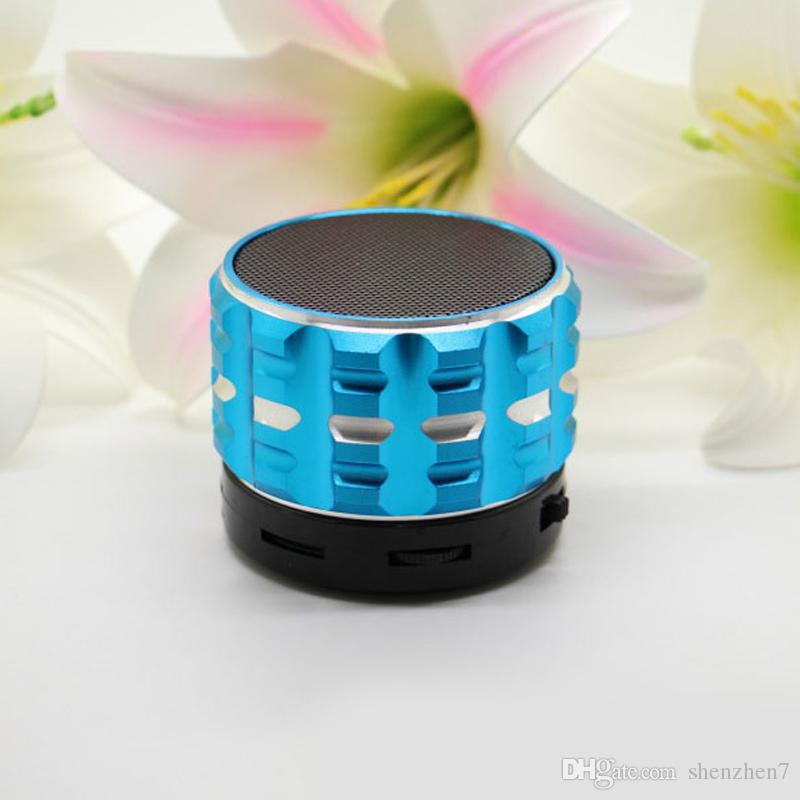 S17 Bluetooth Speakers Mini Wireless Portable Speaker HI-FI Music Player Stereo Subwoofers Home Audio Support TF Card DHL Free MIS076